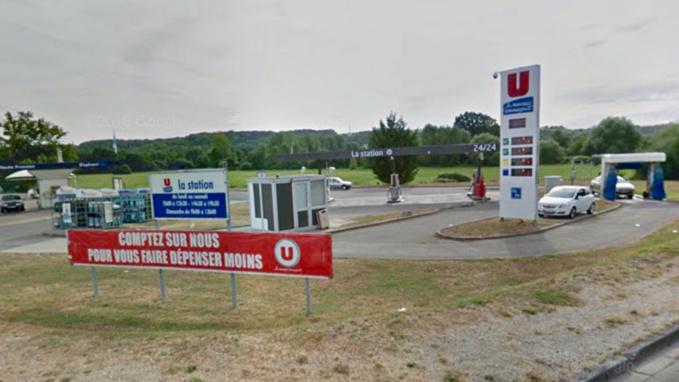 La station-service Super U à Pacy-sur-Eure (illustration)