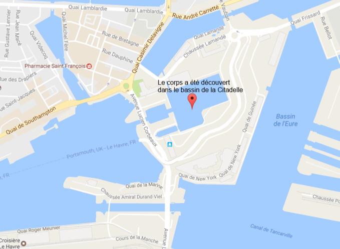 Le Havre : le corps de l'homme repêché dans le bassin de la Citadelle identifié