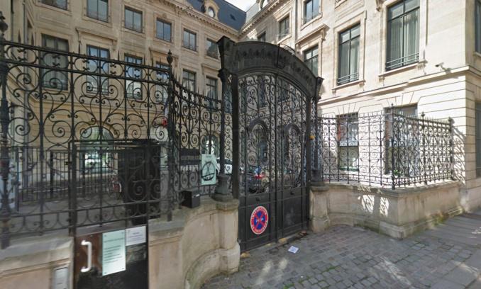 Le rectorat de Rouen, rue de Fontenelle (illustration©Google Maps)
