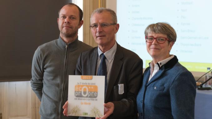 Propreté urbaine : la ville du Havre obtient la 2e étoile du label Eco-propre
