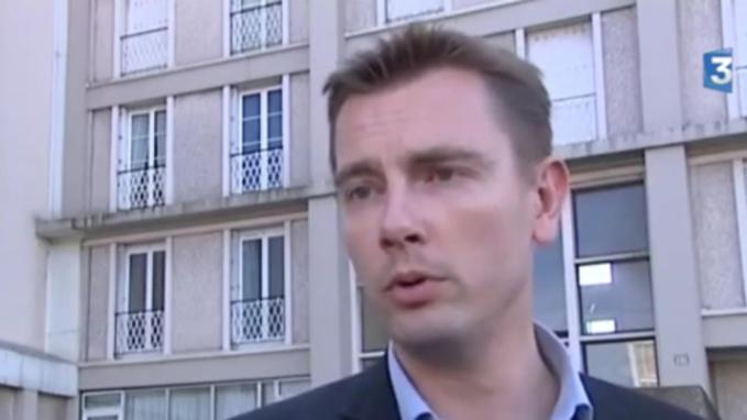Nicolas de Golmard est en mission en Guyane (Capture d'écran @France 3 Haute-Normandie)