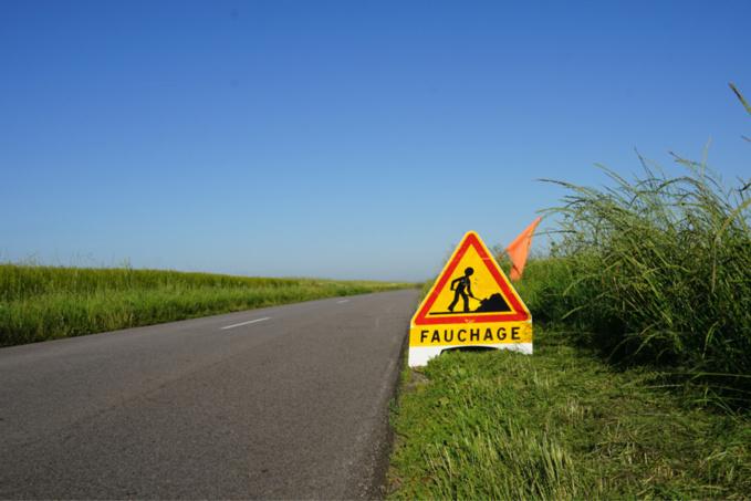 Fauchage des bords de route dans l'Eure : l'équivalent de 1700 terrains de foot à tondre !