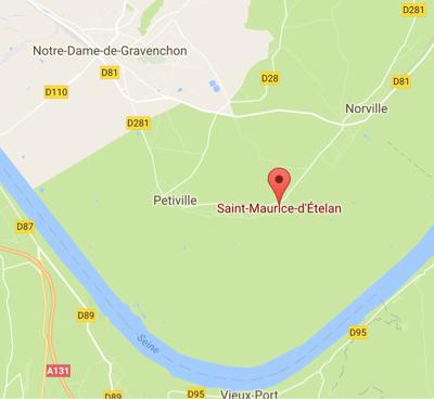 Saint-Maurice d'Ételan : la toiture de la maison en feu s'effondre sans faire de blessé