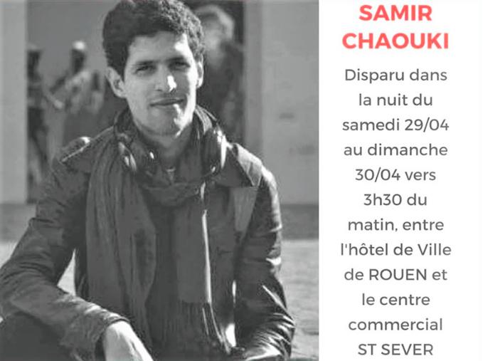 Rouen : le corps découvert en Seine serait celui de Samir Chaouki, selon les proches du jeune disparu