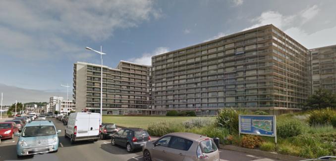 La résidence de France, boulevard Clemenceau sur le front de mer (Illustration © Google Maps)