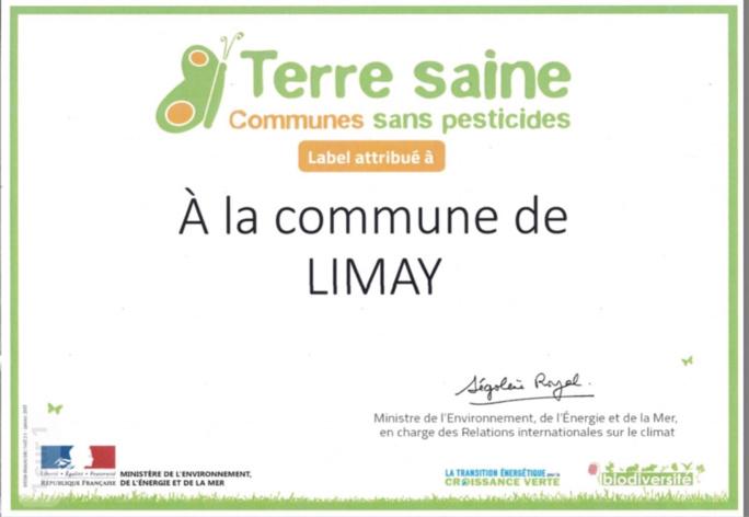 « Zéro phyto » à Limay, labellisée commune sans pesticides par le ministère du Développement durable