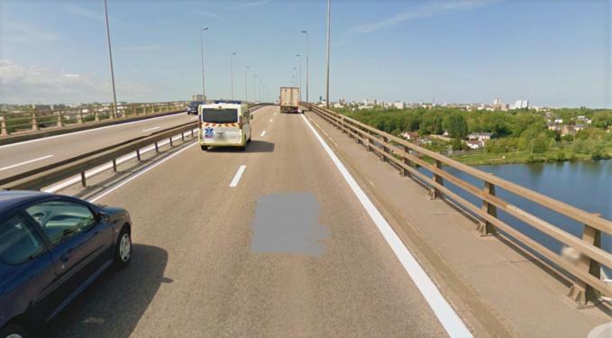 Le viaduc de Calix, à Caen (Illustration © Google Maps)