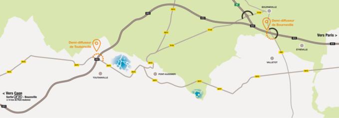 Desserte de Pont-Audemer par l'autoroute A13 : avis favorable à la déclaration d'utilité publique