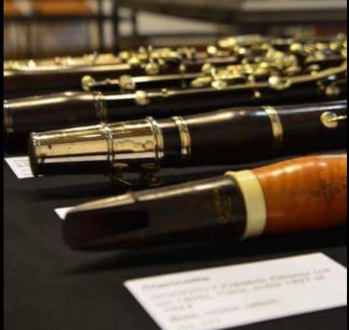 Xavier Cribelier, facteur de flûtes, invité du musée des instruments à vent de La Couture Boussey (Eure)