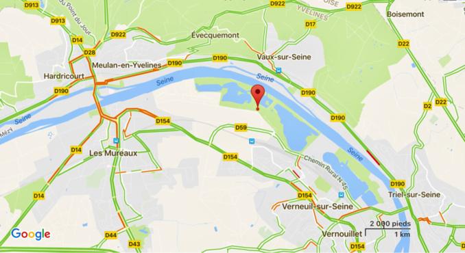 Yvelines : un jeune baigneur se noie sur un plan d'eau de la base de loisirs de Verneuil-sur-Seine