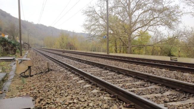 L'homme gesticulait sur la voie devant un train qui arrivait (Illustration ©infonormandie)