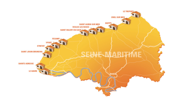 Douze villes participent à l'opération (Cliquer sur la carte pour l'agrandir)