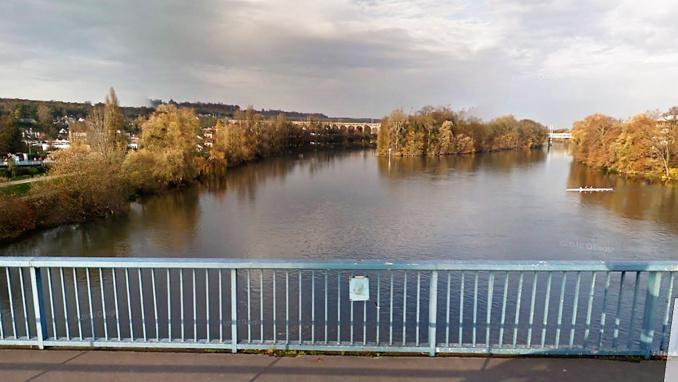 L'enfant a chuté dans la Seine, près de l'île Corbière (Illustration ©Google Maps)