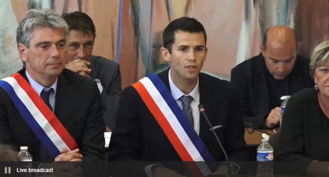 Nicolas Langlois élu avec 30 suffrages exprimés (Capture d'écran)