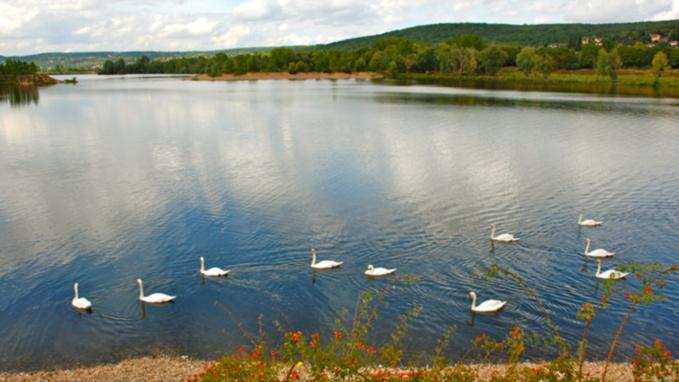 L'étang du Gaillardon est interdit à la baignade (illustration @ville de Vernouillet)