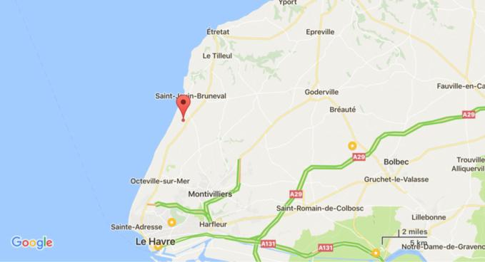 Seine-Maritime : le pilote d'une moto trouve la mort dans une collision avec un véhicule a Heuqueville