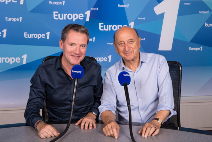 Olivier Alleman et Pierre Bonte (Photo @Europe 1)