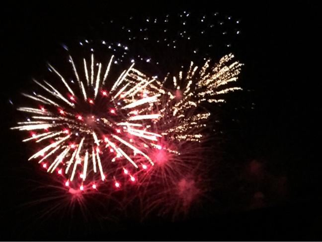 Temps fort des festivités du 14 juillet : le feu d'artifice toujours de très bonne qualité (Illustration ©infonormandie)