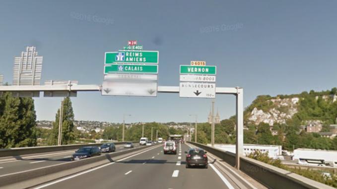 Rouen : en état d'ivresse, il circule à contresens sur le pont Mathilde et provoque un accident