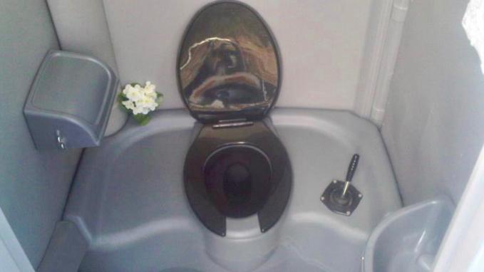Le casseur s'est blessé a une main en détériorant les toilettes (illustration)