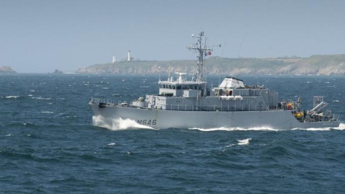 Le chasseur de mines Tripartite La Croix du Sud (Illustration © Marine nationale)