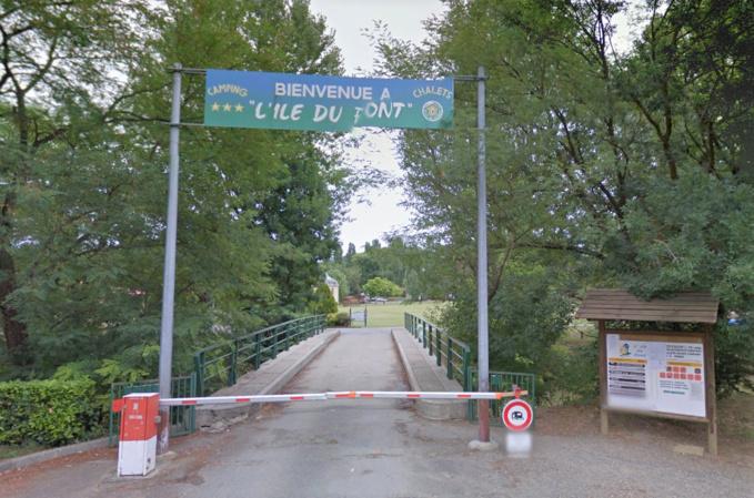 La petite victime était arrivée dimanche soir au camping avec sa famille originaire de l'Eure (illustration @Google Maps)