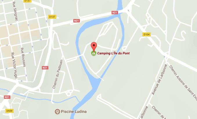Le corps sans vie de l'enfant a été découvert hier à 22h20 dans un bras de la rivière La Baïse qui contourne le terrain de camping