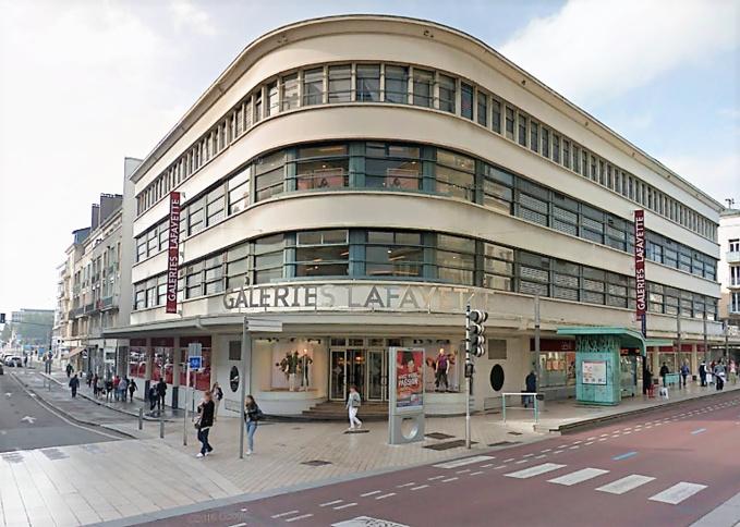 Rouen : le sac des voleurs à l'étalage des Galeries Lafayettes était trafiqué