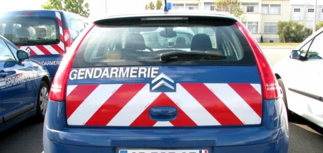 Les clandestins ont été placés en rétention à la gendarmerie de Flery-sur-Andelle (illustration)