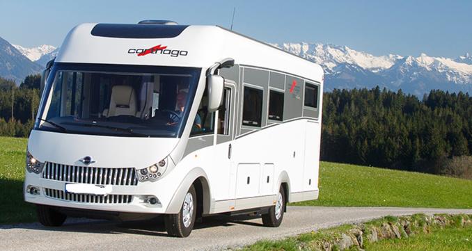Le chef d'entreprise affirmait aux gendarmes s'être fait voler son camping-car par deux individus (Photo d'illustration extraite du site de Carthago)