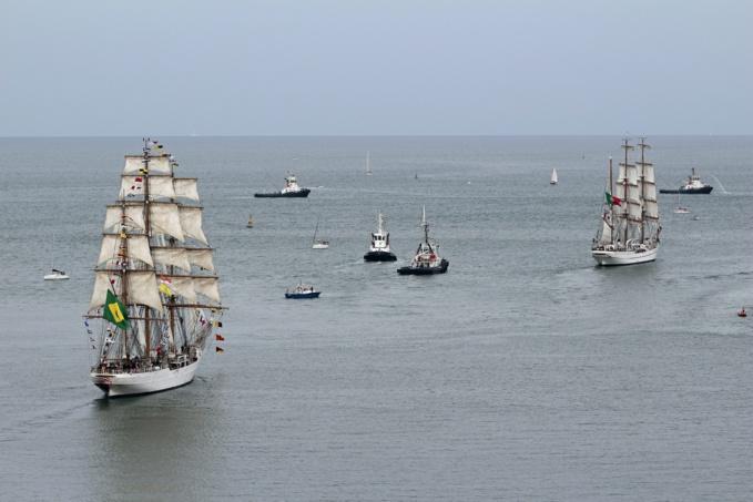 Seine-Maritime : 400 000 visiteurs pour les Grandes Voiles du Havre