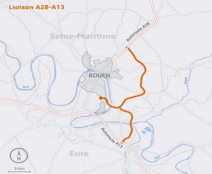 Le projet de contournement Est de Rouen enfin bouclé financièrement : il est dans les cartons depuis 40 ans !
