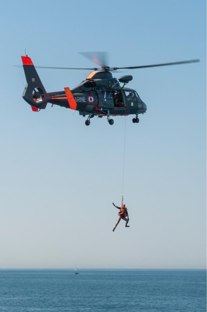 Samedi à Fécamp, la SNSM et l'hélicoptère de la Marine nationale simuleront un sauvetage en mer