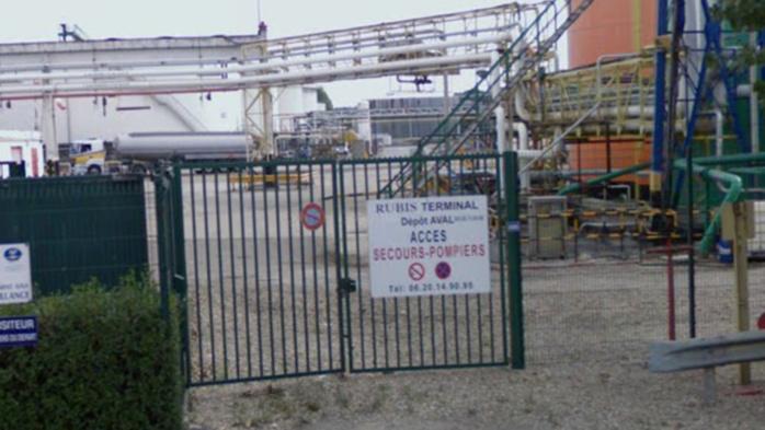 Début d'incendie au dépôt pétrolier Rubis à Grand-Quevilly : le plan d'opération interne déclenché