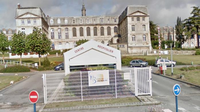 La victime a été admise à l'hôpital de Bernay. Son pronostic vital n'était pas engagé (Illustration @ Google Maps)
