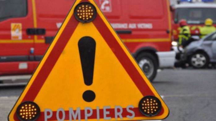 Douze sapeurs-pompiers ont été mobilisés sur l'accident qui a fait trois blessés (Illustration)