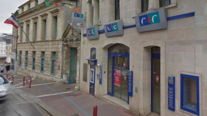 L'agence bancaire a été évacuée (Illustration)