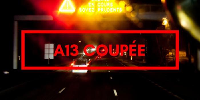 Poids-lourd en feu : l'A13 coupée ce matin entre Troarn et Dozulé dans le Calvados