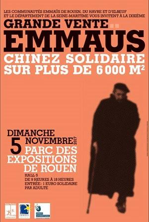 10ème grande vente Emmaüs à Rouen : le rendez-vous incontournable des chineurs