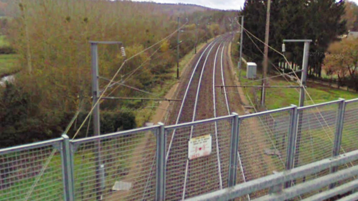 L'homme s'est jeté sous le train au moment où il est arrivé à sa hauteur, a témoigné le conducteur de la locomotive (Illustration)