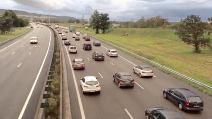 L'autodétermination A13 devrait connaître un trafic particulièrement dense dimanche dès le milieu d'après-midi vers Paris (photo @ infonormandie)
