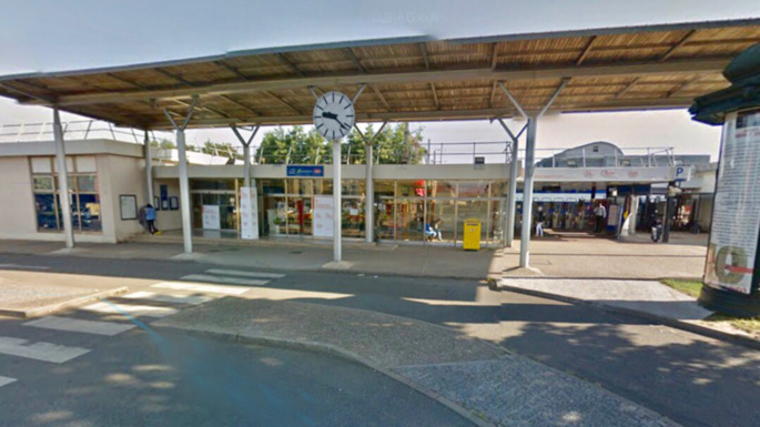 Gare de Plaisir-Grignon (Illustration @ Google Maps)