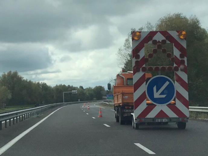 La circulation a été perturbée en amont de l'accident en direction de Neufchâtel-en-Bray (Illustration © infonormandie)