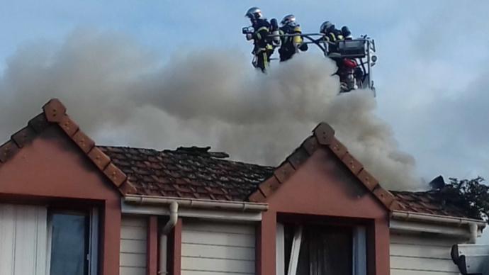 Pont-de-l'Arche : un incendie détruit quatre appartements, six personnes relogées