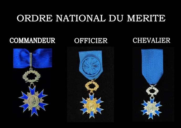 Huit personnalités eurorises nommées ou promues dans l'ordre national du Mérite