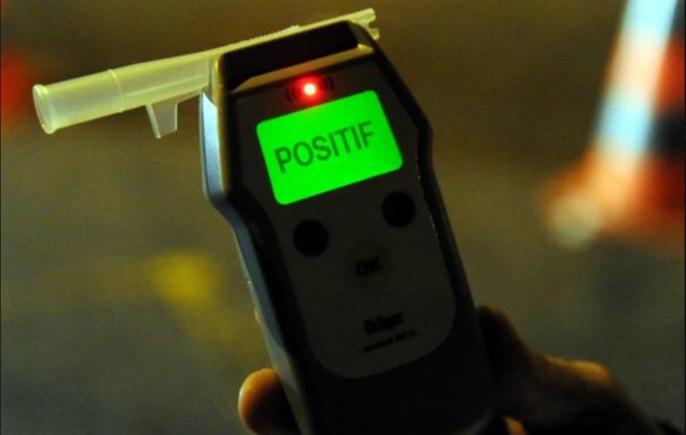 Le conducteur a été contrôlé positif à l'alcool (illustration)