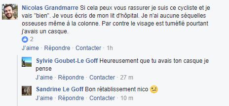 Seine-Maritime : un conducteur en fuite recherché après avoir grièvement blessé un cycliste à Grand-Quevilly