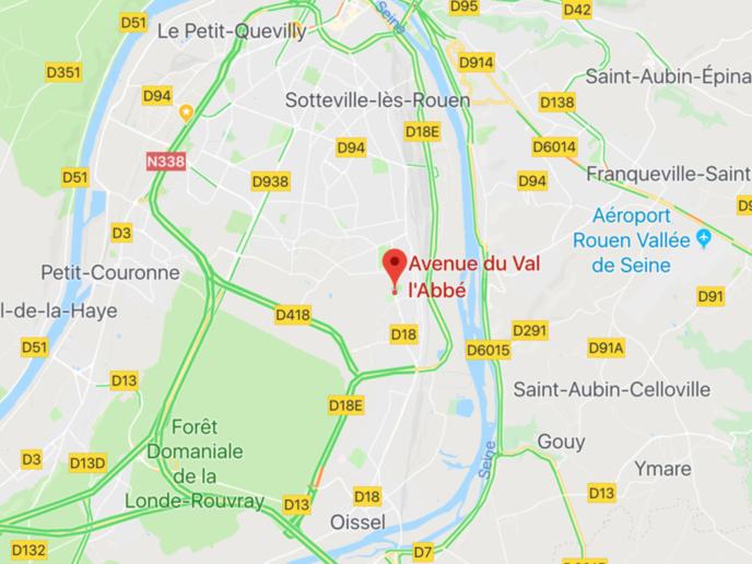 Seine-Maritime : un homme retrouvé pendu dans un parc boisé a Saint-Étienne-du-Rouvray