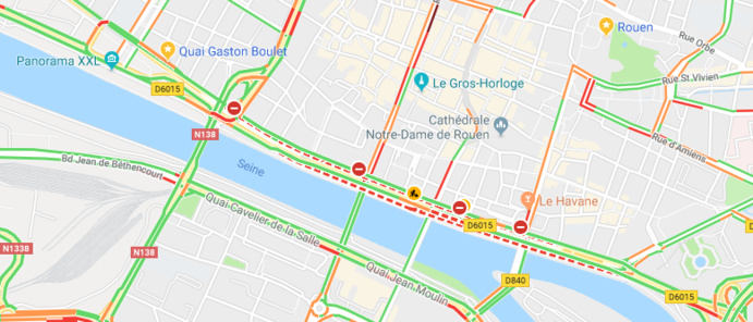 Tempête « Eleanor » : la Seine-Maritime maintenue ce soir en vigilance orange (le point à 17 h)