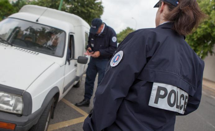 Le fumeur de joint a été interpellé lors d'un banal contrôle routier route d'Orléans (Illustration)